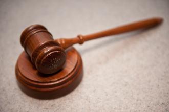 Judges timber gavel
