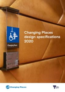 Changing Places design specifications 2020 cover image