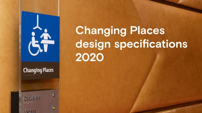 Changing Places design specifications 2020 cover title